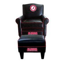 NCAA Game Time Chair and Ottoman