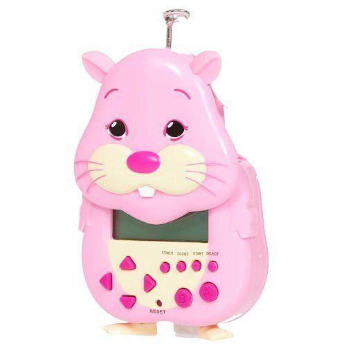 Zhu Zhu Pets Electronic Virtual Pet Jilly Pink By Cepia Llc