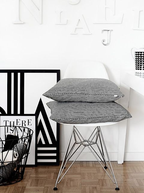 Via Mrs Jones | Ferm Living | Eames | One Must Dash | Black White Grey | House of Rym