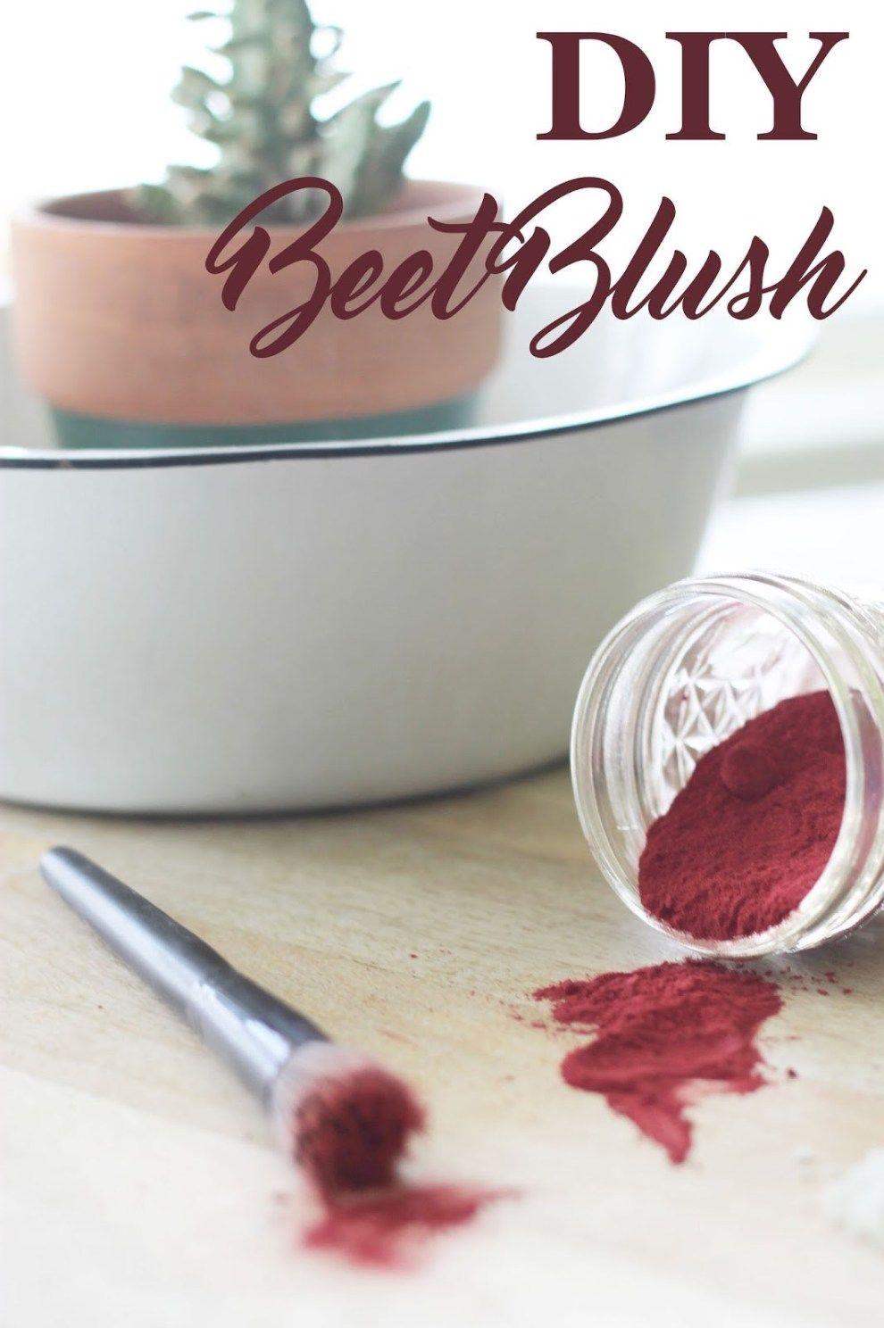 DIY Beet Blush Zero waste, Organic living, Diy beauty