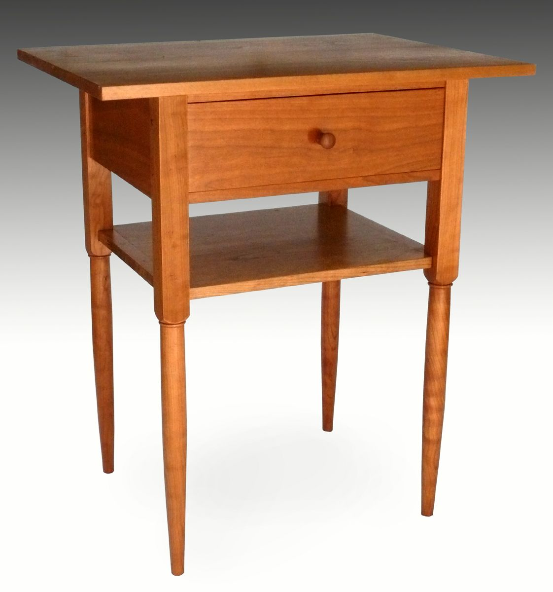 Shaker End Table With Shelf   Readeru0027s Gallery   Fine Woodworking
