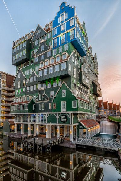 Inntel Hotel Zaandam Van Adriaan Westra Op Canvas Behang En Meer
