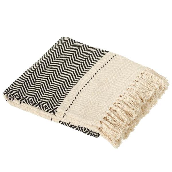 Pleasant Black White Chevron Throw Blanket In 2019 White Throw Creativecarmelina Interior Chair Design Creativecarmelinacom