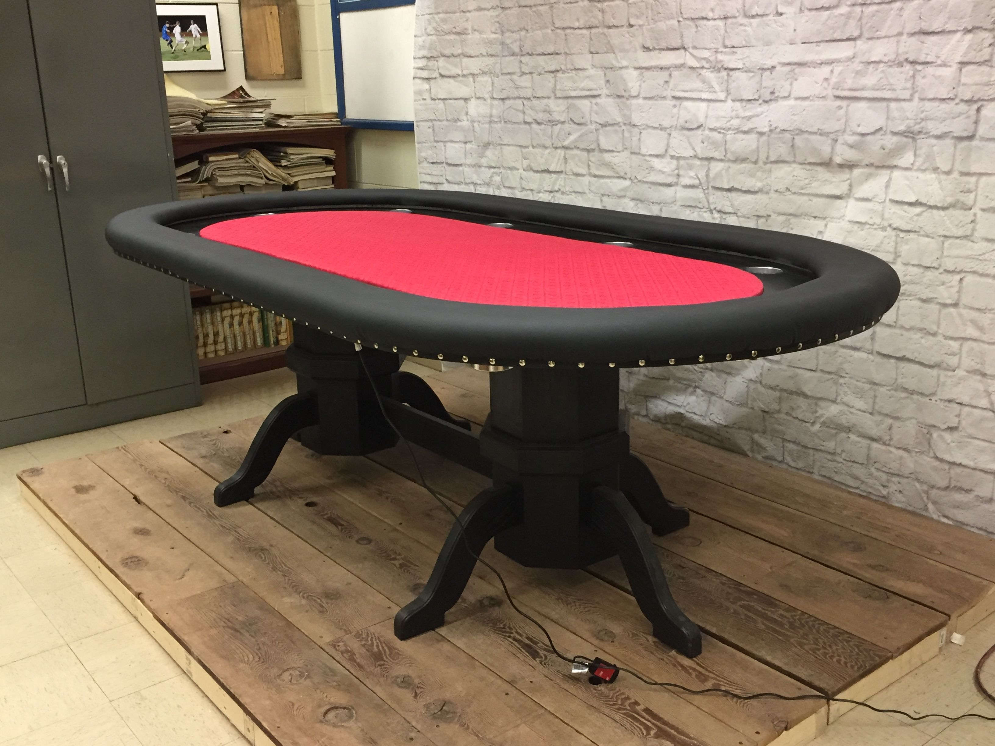 My Led Lit 10 Player Poker Table Handmade Crafts Howto Diy Poker Table Poker Table Diy Table