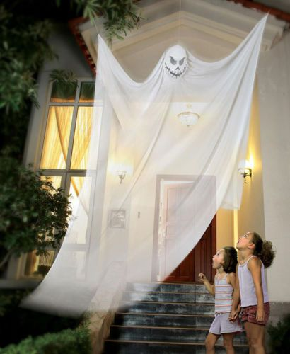 Spooky Hanging Ghost Halloween Haunted House Yard Porch Decoration - decorate house for halloween