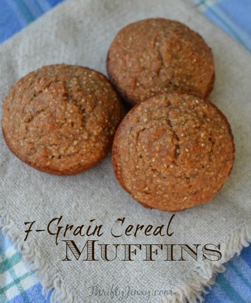 7 grain cereal muffins recipe muffin recipes cereal and snacks 7 grain cereal muffins recipe thrifty jinxy ccuart Gallery