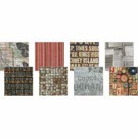 Tim Holtz Eclectic Elements Charm Pack Melange 5inx5in 8pcs