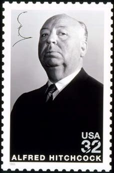 """Alfred Hitchcock (1899 - 1980) Director of movies of suspense, horror and the macabre, master of the genre, """"Rear Window"""", """"North by Northwest"""", """"The Birds"""""""