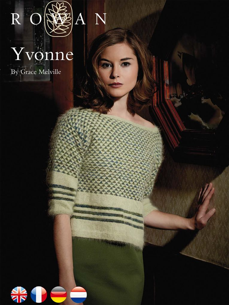 Free Boat Kneck Knit Sweater Pattern Yvonne | Knitted Jumpers ...