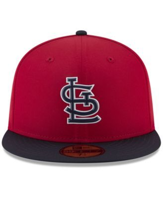 new style 4d7fa a3d5e New Era Boys  St. Louis Cardinals Batting Practice Prolight 59FIFTY Fitted  Cap - Red Navy 6 3 8