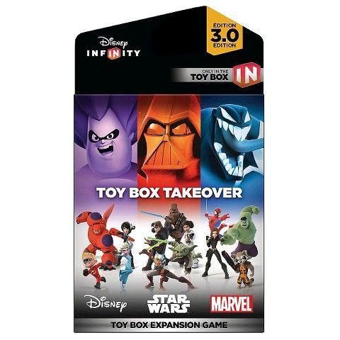 Disney Infinity 3 0 Edition Toy Box Takeover Expansion Game Disney Infinity Disney Infinity Characters Disney Infinity Figures