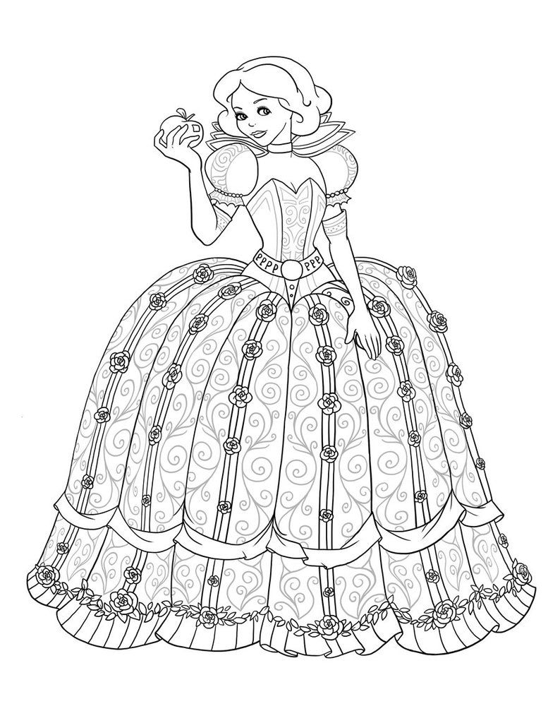 Snow White As Scarlet Overkill Lineart By Paola Tosca Aluminyum