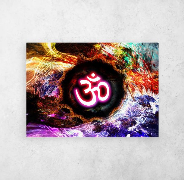 #multicoloredom #omcolor #omprint #sacred #sacredgeometry   Displate thumbnail