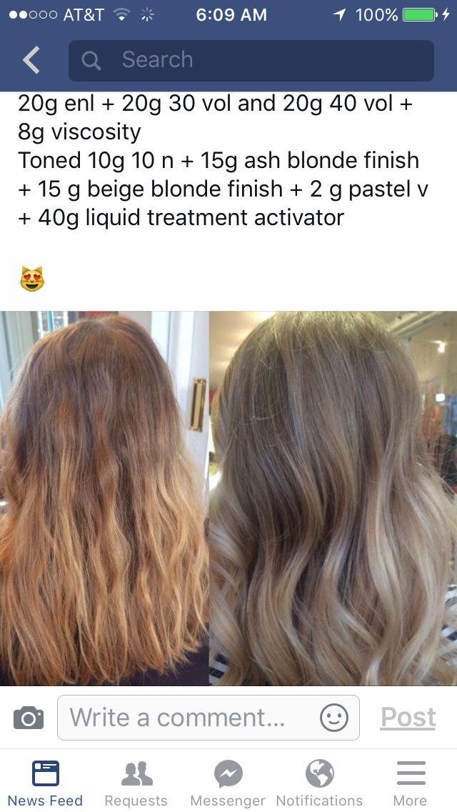 Love This Aveda Toner Formulas In 2019 Aveda Hair
