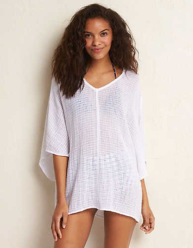 4ad906e11cd51 ... Beach Cover Up Boutique. Aerie Roomy Poncho. Go with the flow! #Aerie