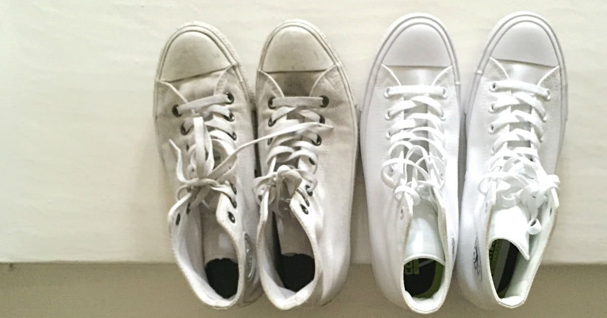 How to clean sneakers and keep your feet lookin fresh