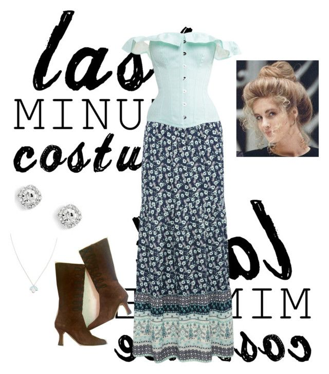 """""""last minute costume-1800 costume"""" by kittycatcatkittykittycat ❤ liked on Polyvore featuring M&Co and Wolf & Moon"""
