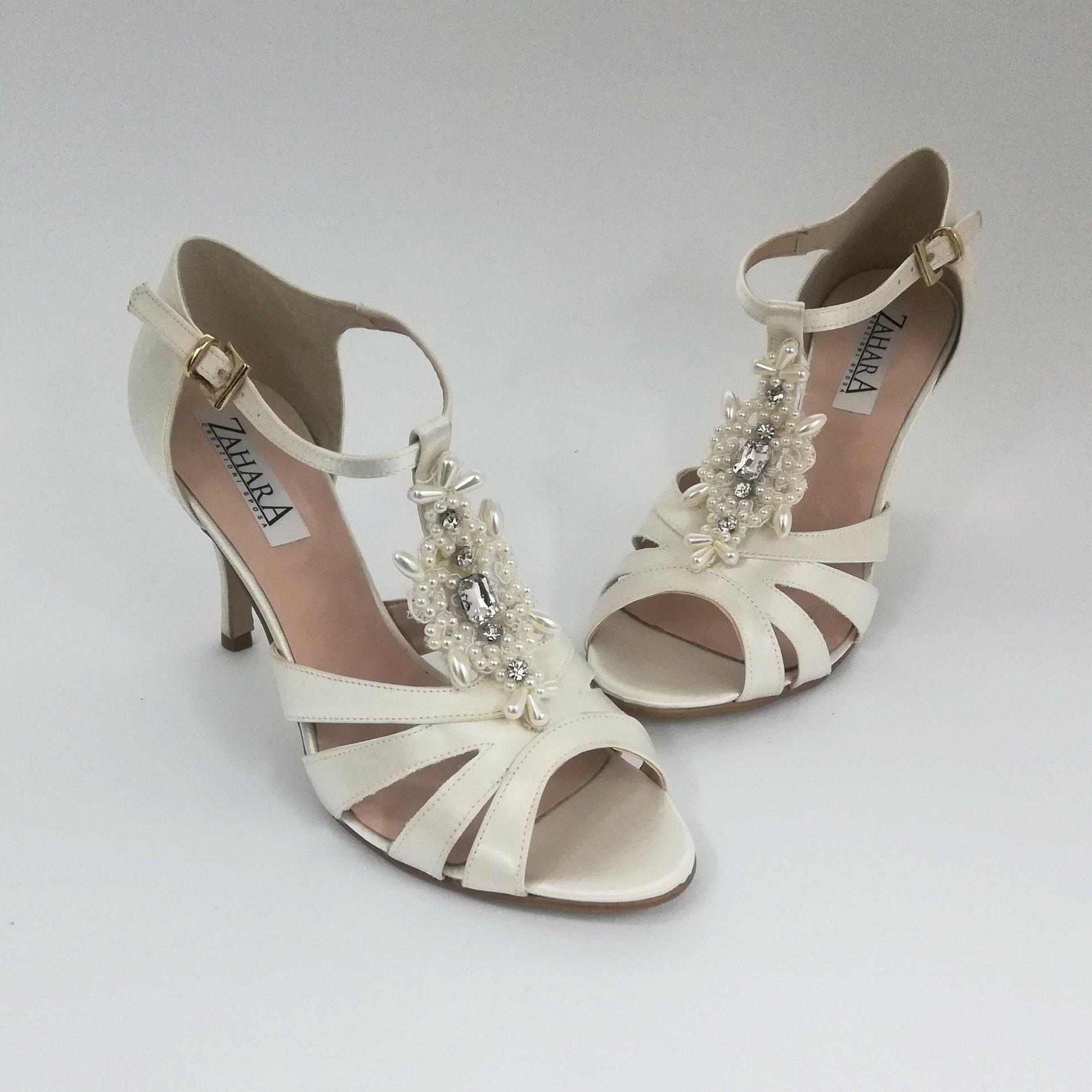 Scarpe Sposa Beige.Custom Made In Italy Bridal Shoes Scarpe Da Sposa Sandali Da