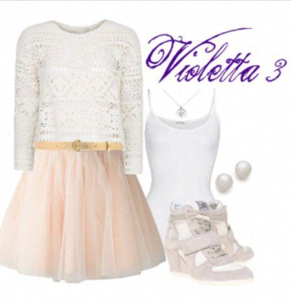 Violetta Outfit Seizoen 3 Cute Outfits Pinterest