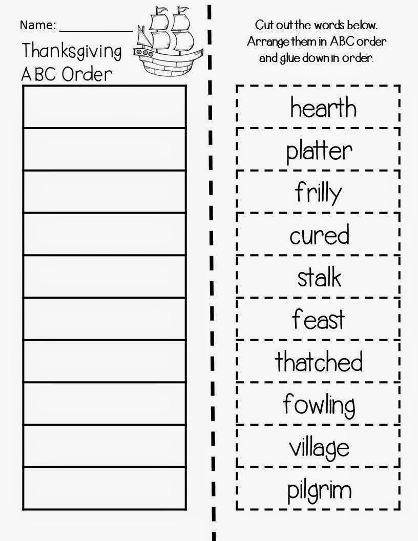 Thanksgiving Abc Order Magic Tree House Thanksgiving On Thursday Thanksgiving Abc Magic Treehouse Abc Order