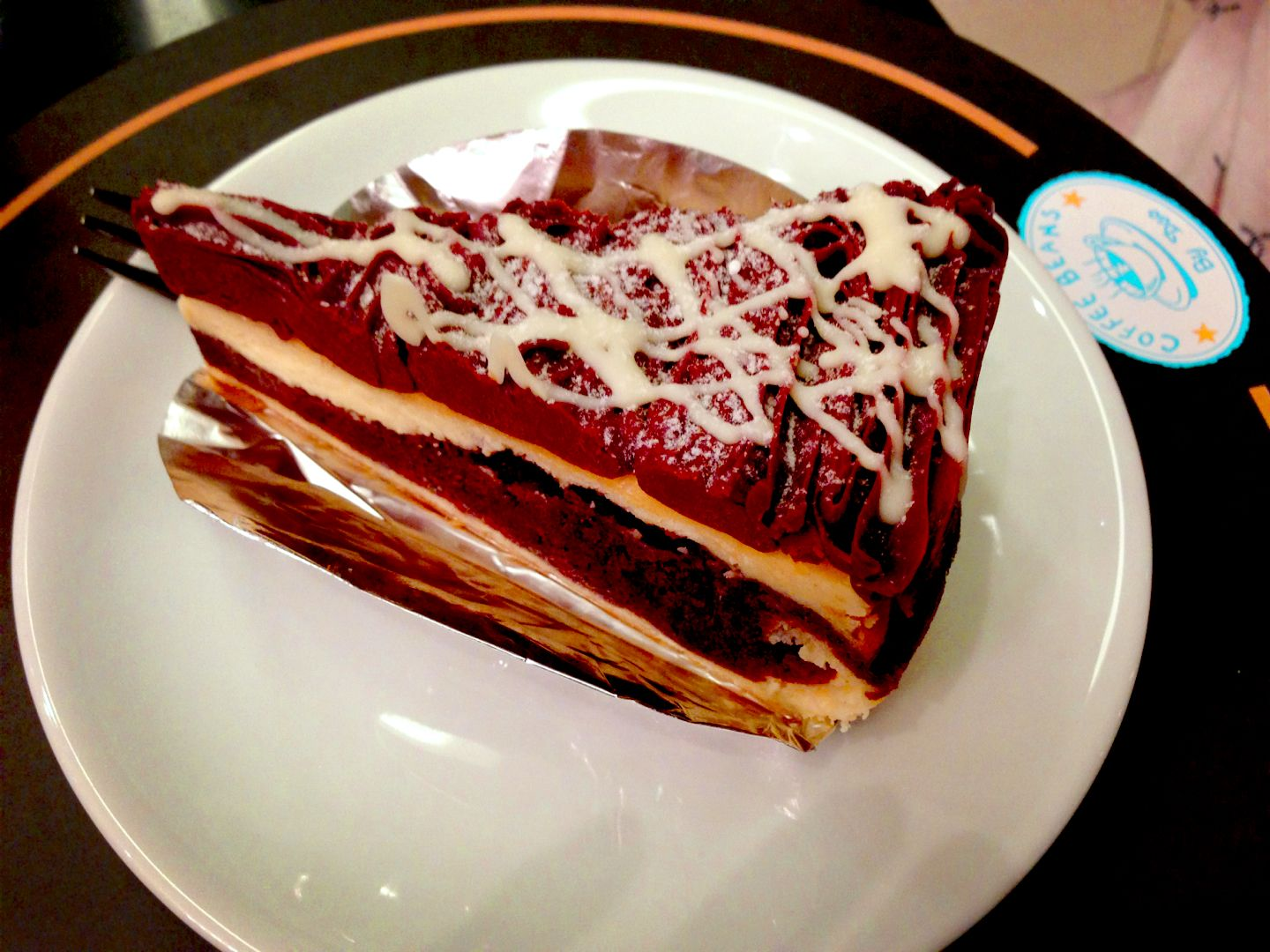 Coffee Bean By Dao One Of The Best Cake In Bangkok Recommend Coffee Merriange White Chocolate Cake White Chocolate Cake Food Desserts