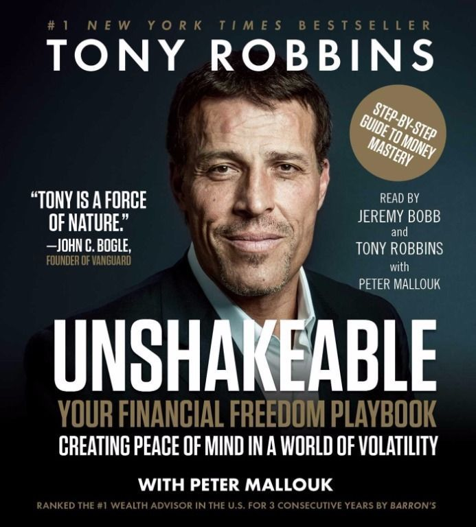 Unshakeable How to Thrive  in the Coming Financial (Audiobook CD) Tony Robbins 1508232709   eBay