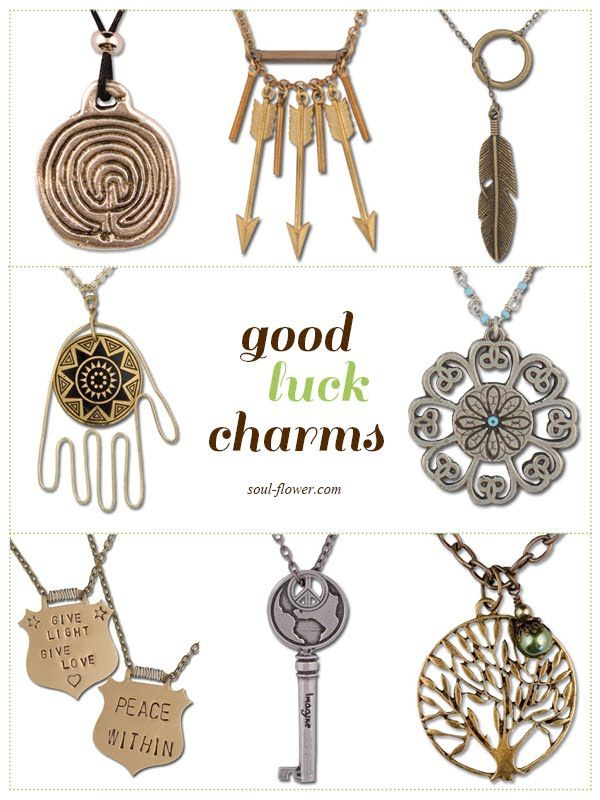 Good Luck Charms I Think A Cross Should Be Included Here Too