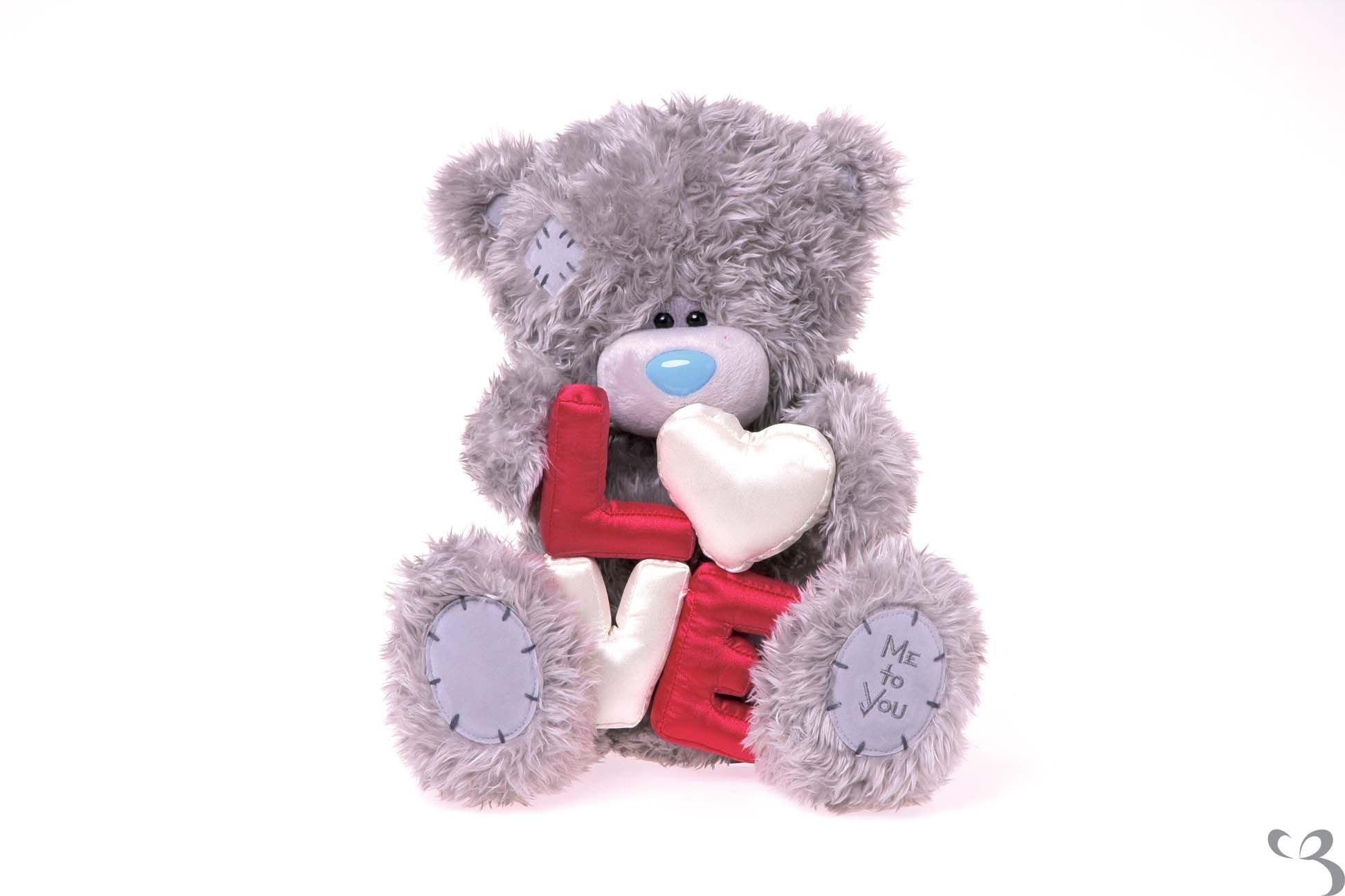 "Me to You Bear - 12"" Love - Padded letters - Tatty Teddy ..."