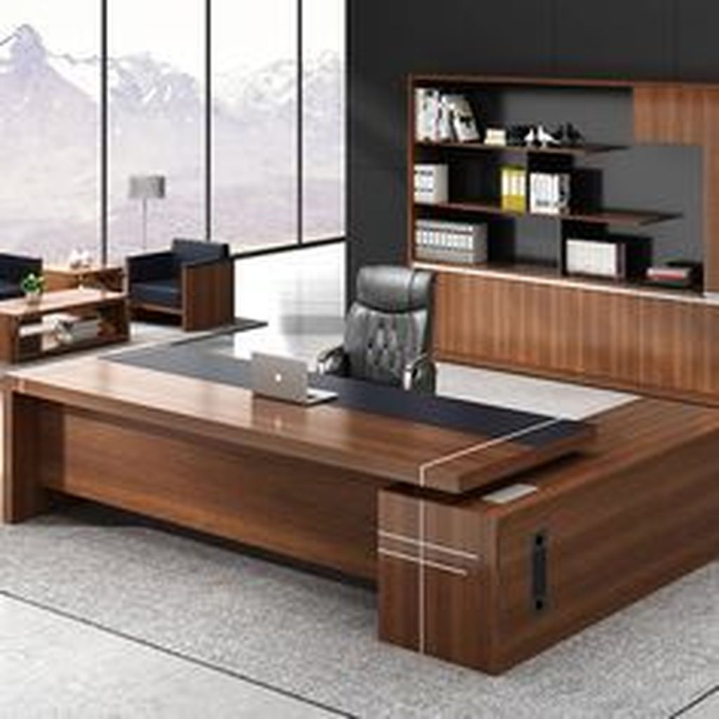38 Stunning Small Home Office Furniture Design Ideas In