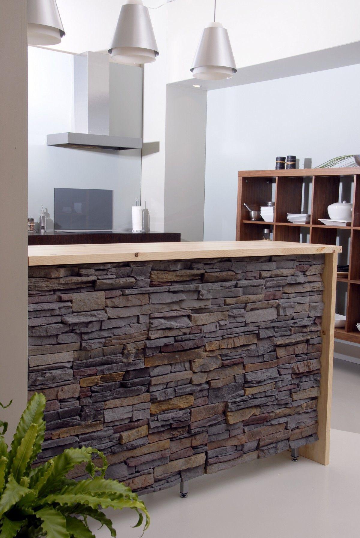 Barra cocina americana en decoraci n soluciones de - Muebles para bar ...