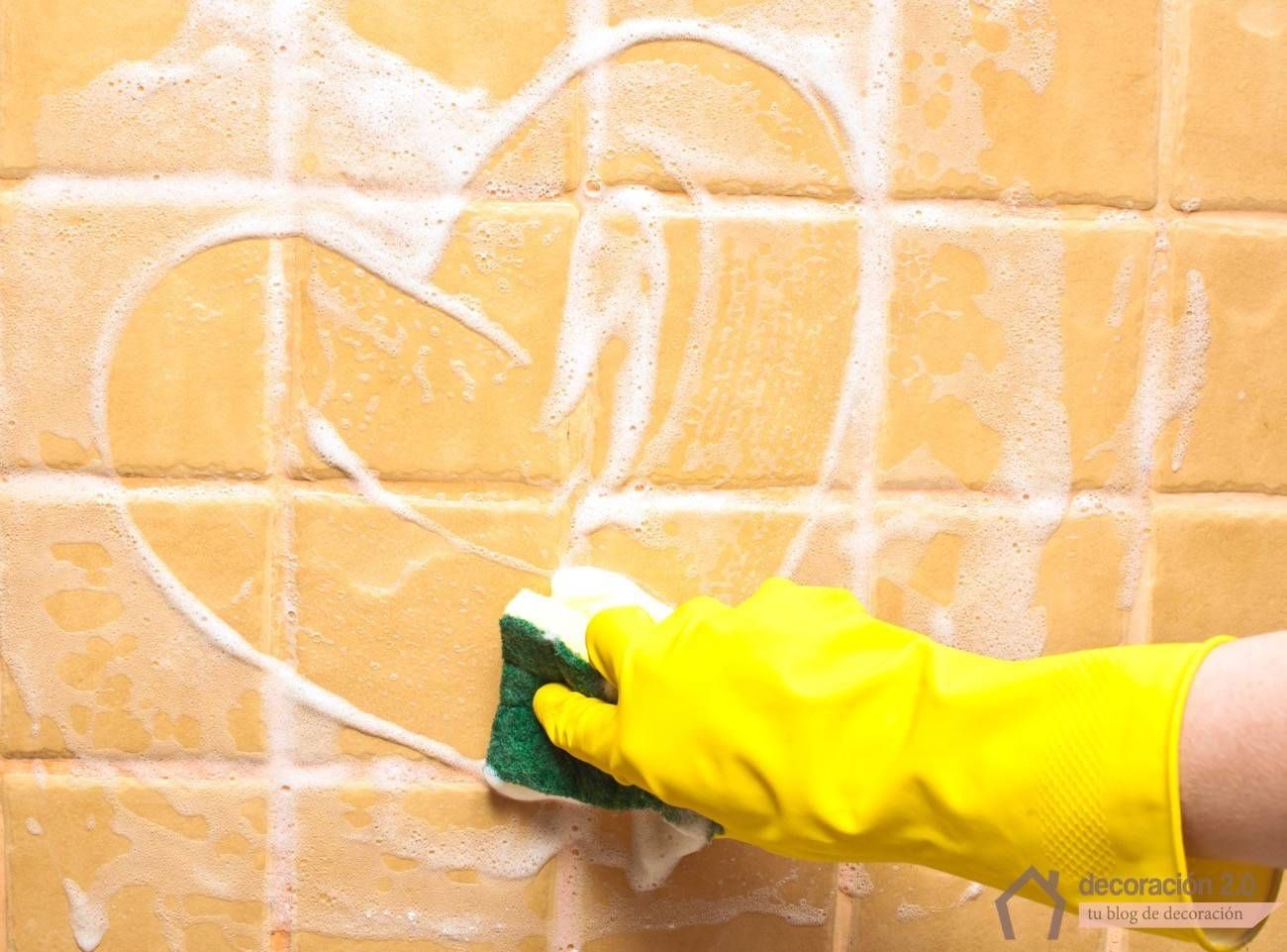 Ideas para limpiar las juntas de los azulejos la junta - Como limpiar las baldosas de la cocina ...