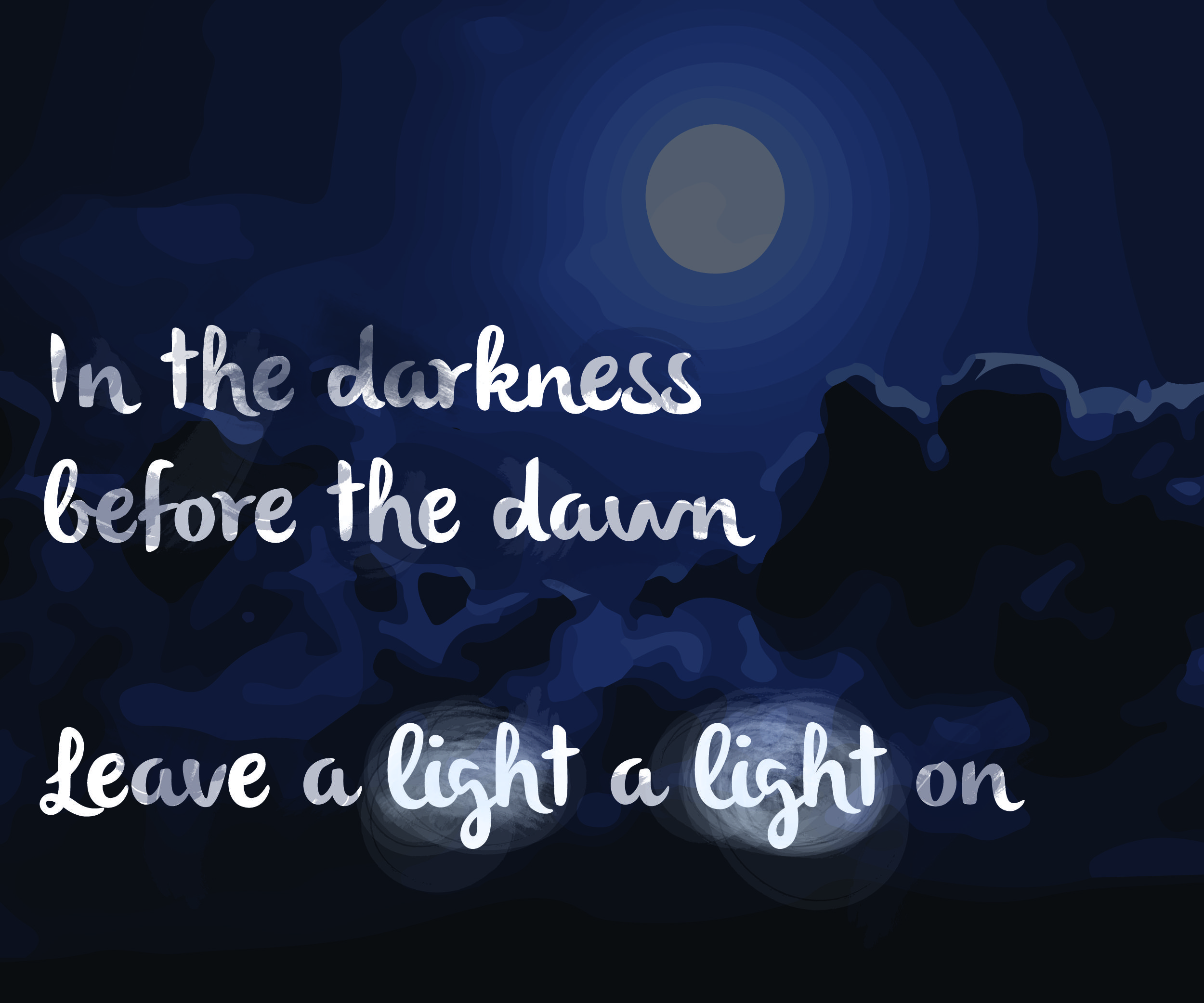 Leave A Light A Light On Midnight By Coldplay Before The Dawn Coldplay Light