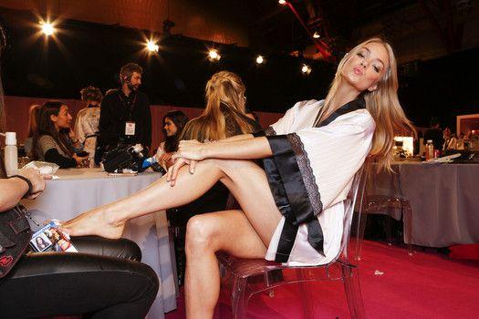 Transforming the supermodels into Angels: Victoria's Secret  Fashion Show 2014
