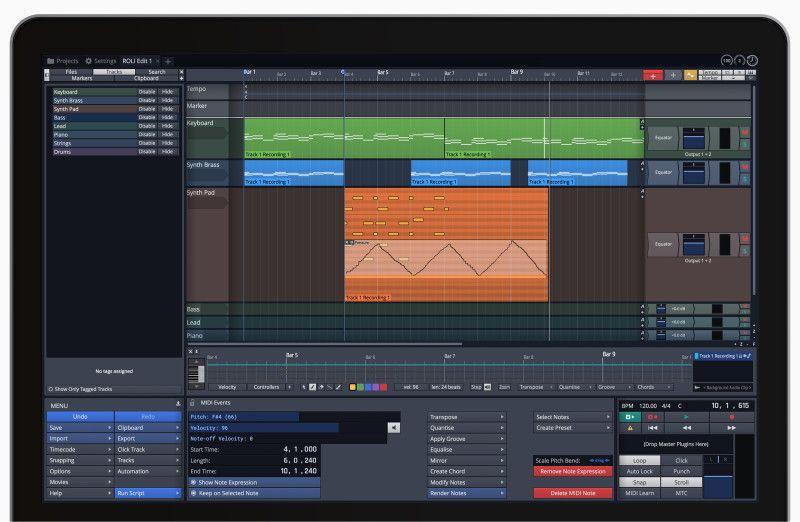 VST SEARCH : Waveform 8 - Tracktion Software | Digital Audio