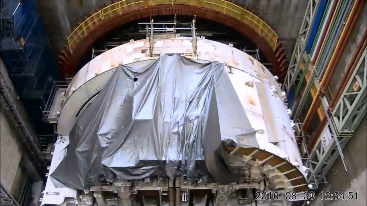 外環道、関越道~東名高速間のトンネル工事に使用するシールドマシン発進式を開催 - トラベル Watch