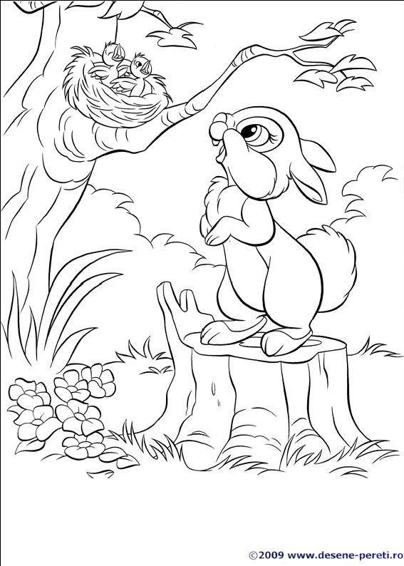 Good Rabbit Coloring Book 85 Disney bunnies coloring page