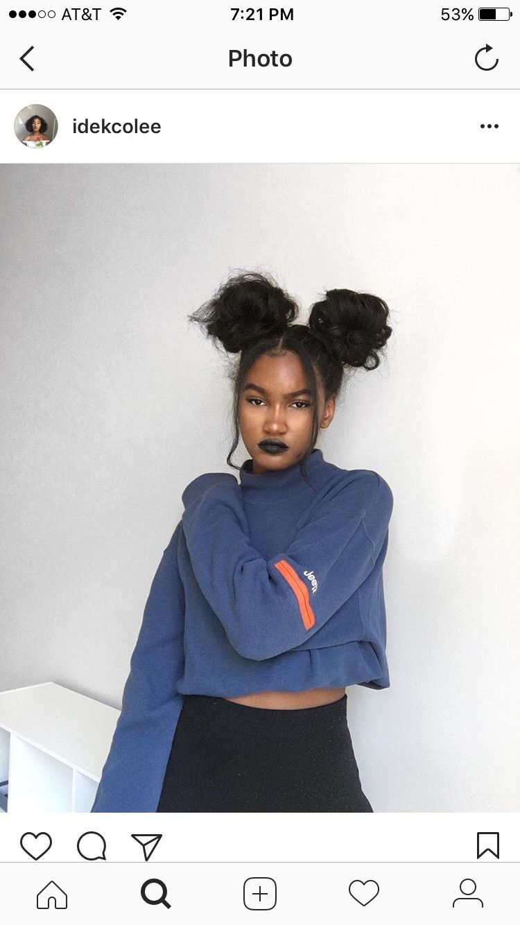 Pinterest Dreamer Drea With Images Girl Hairstyles Black