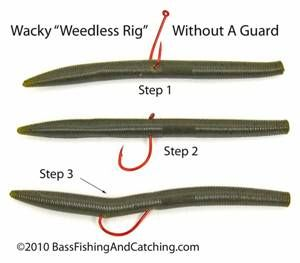 wacky worm fishing offers a multitude of combinations and