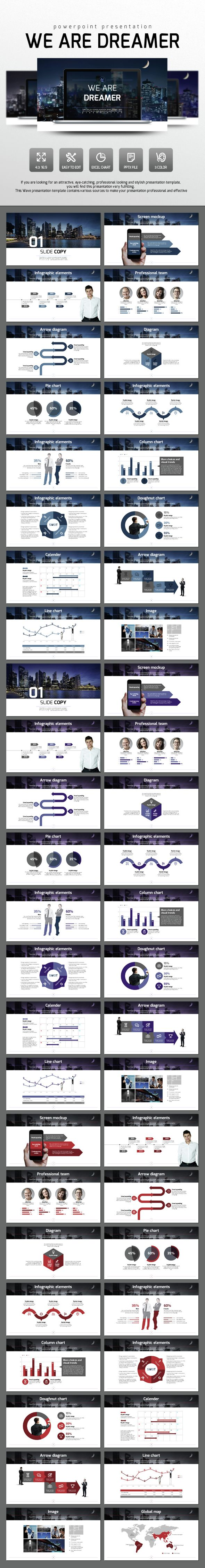We are dreamer powerpoint presentation templates presentation layout design we are dreamer powerpoint presentation template slides download alramifo Gallery