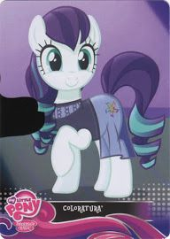 MLP Countess Coloratura Equestrian Friends Trading Card