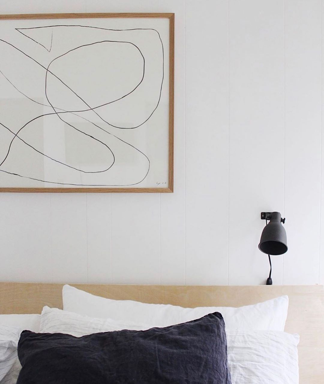 Home Decor Apartment Clean simplicity. Featuring a classic Bycdesign studio print. Captured by @mysoulmateplace. . Abstract print available from Copenhagen based The Poster Club. Worldwide shipping! Minimal Scandinavian bedroom in neutral colours. #art #artprint #tpc #theposterclub #interiordesign #nordicdecor #homestyling #bedroomdecor @rivercabaan photo by @kassalaholdsclaw.Home Decor Apartment  Clean simplicity. Featuring a classic Bycdesign studio print. Captured by mysoulmateplace. . Abstra