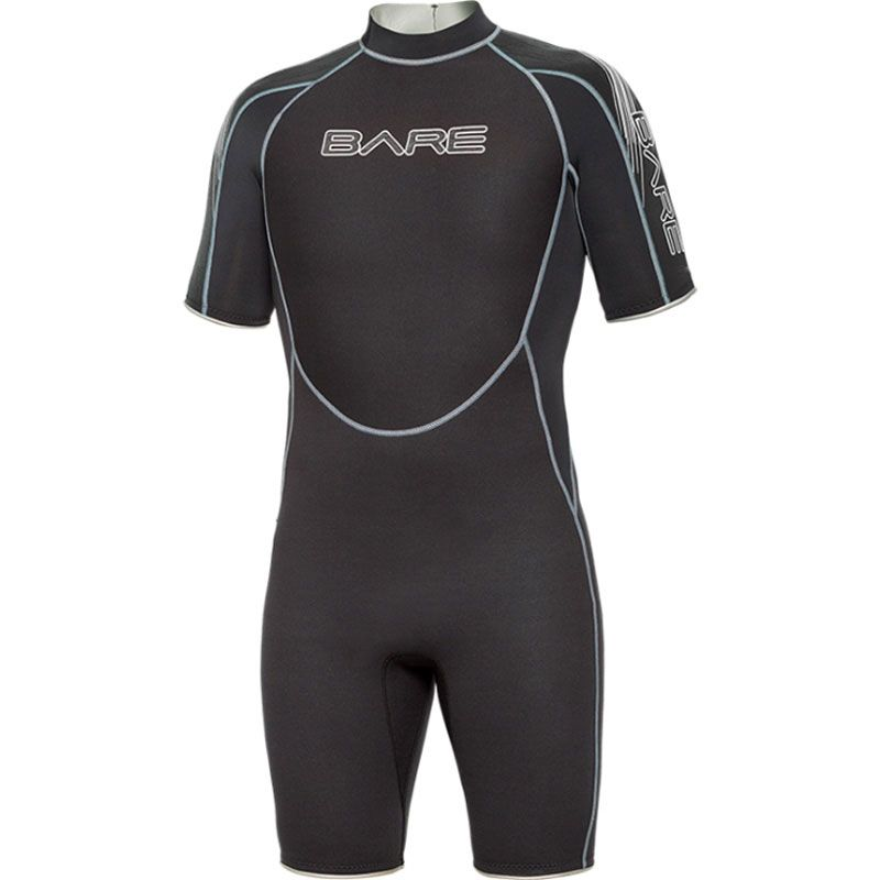 Bare 2mm Men S Velocity Shorty Wetsuit Outdoor Apparel Shorty