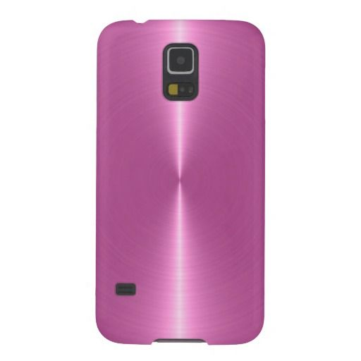 san francisco 1b1c3 ed715 Metallic Pink Background Stainless Steel Look Case For Galaxy S5 ...