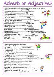 of Speech (nouns verbs adjectives adverbs pronouns prepositions ...