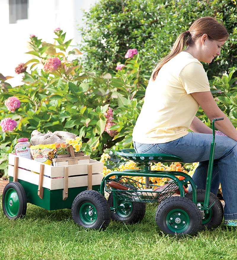 With Its Soft Pneumatic Tires And Swiveling Tractor Seat, The Scoot N Do