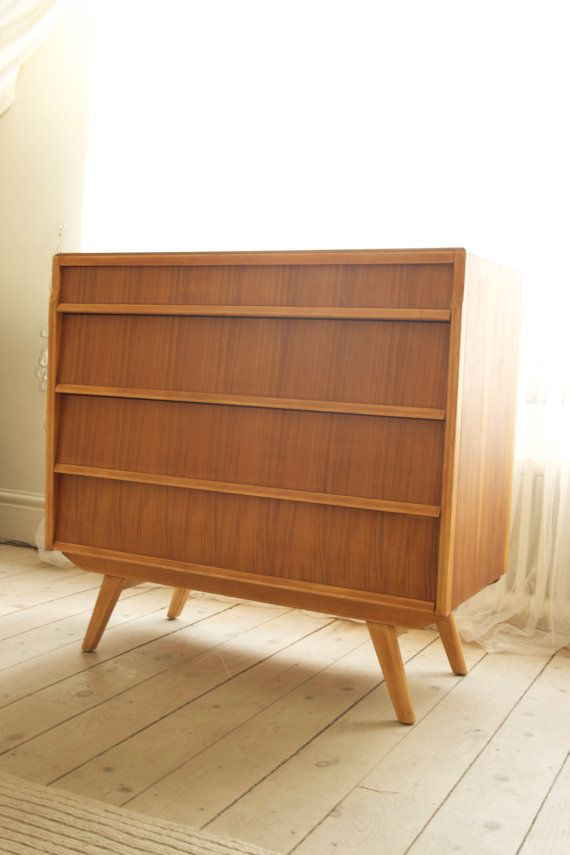 Retro GPlan Chest of Drawers circa 1960 by InspiritVintage on Etsy, £220.00