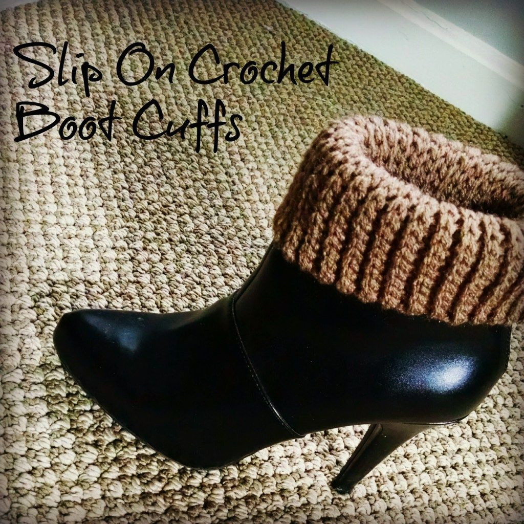 Slip on Crochet Boot Cuff Pattern | Pinterest | Häkelanleitung