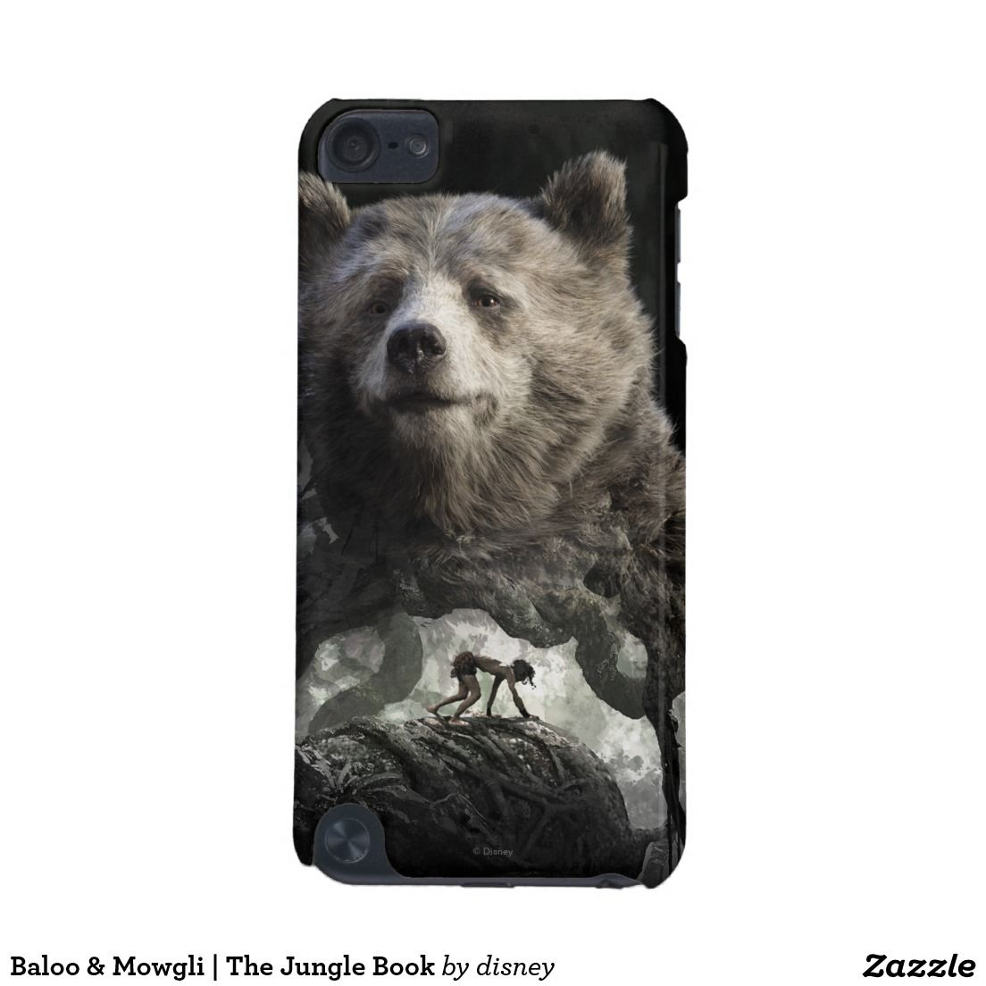 Baloo & Mowgli | The Jungle Book iPod Touch (5th Generation) Cover #carcasas #cases