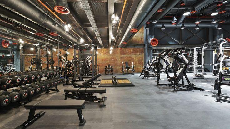 Kancoold womens dress basement gym gym design gym interior