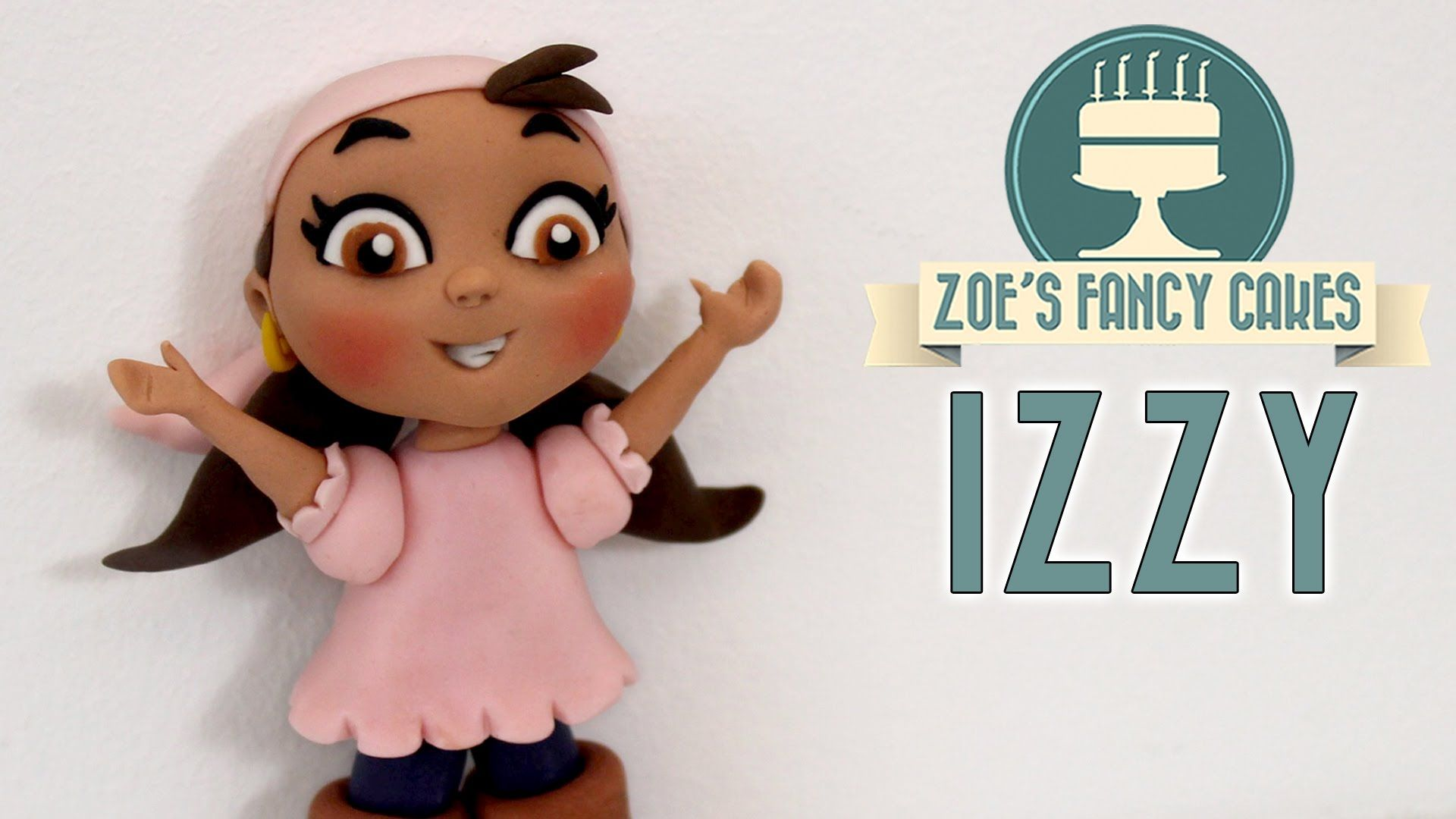 How to Make an Izzy model from Jake and the Never Land Pirates I use